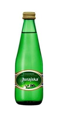 Woda Jurajska 0,33 l. gazowana Butelka Szklana