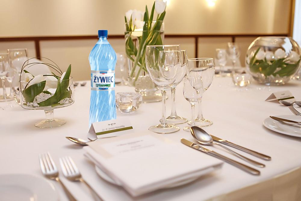 Woda na eventy i imprezy okolicznościowe