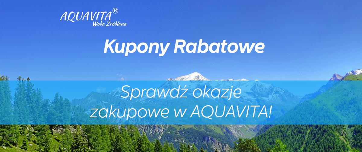 Woda Aquavita - Kupony rabatowe