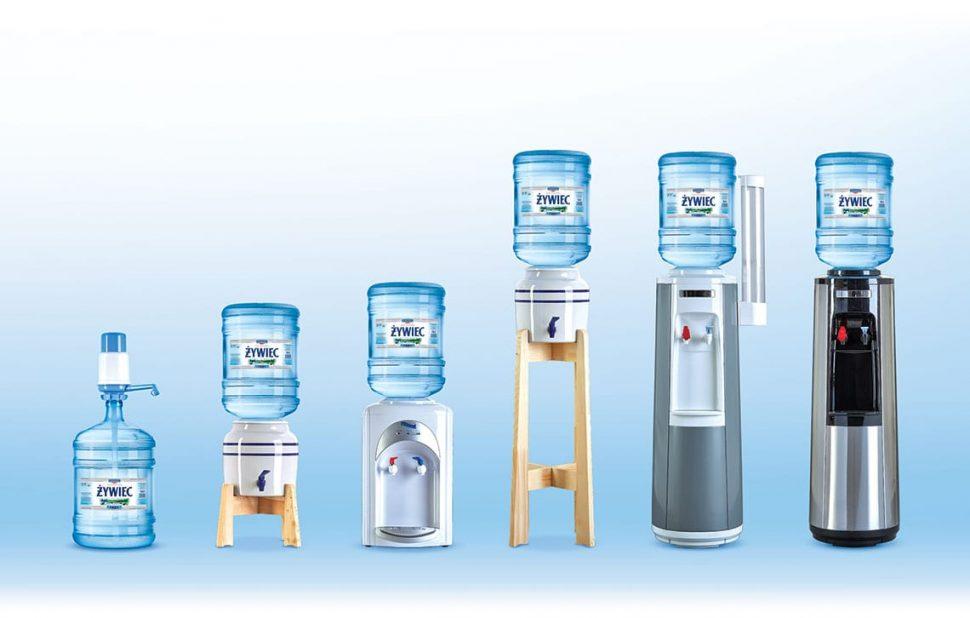 Dystrybutory wody do domu