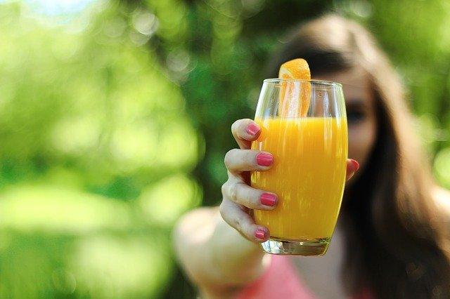 Słodki sok pomarańczowy