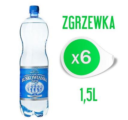 Woda Buskowianka Zdrój 1,5L