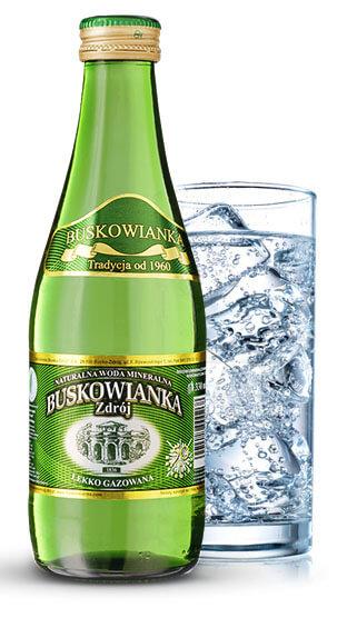 Woda Buskowianka Zdrój 0,33L